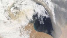 Piaski Sahary dotarły nad Sycylię