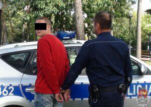 Policjant zapamiętał twarz złodzieja, zatrzymał go po kilku dniach