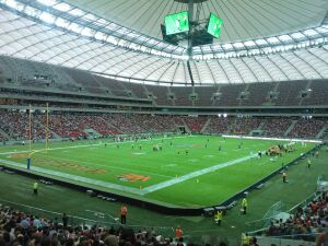 Gdynia pokonała Warszawę na Stadionie Narodowym