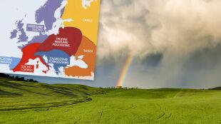 Wiosna w Europie według Amerykanów. Jaka pogoda czeka Polskę?