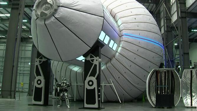 """""""Wstęp do podróży na Marsa"""". NASA testuje moduły nowej stacji kosmicznej"""