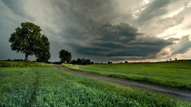 Uwaga na burze z gradem. <br />Prognoza zagrożeń IMGW