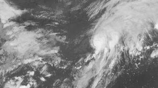 Burza tropikalna Kyle. Dopiero powstała, a już pobiła historyczny rekord