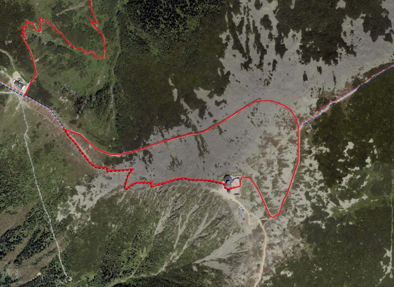 Zamknięte szlaki na Śnieżce (Karkonoski Park Narodowy)
