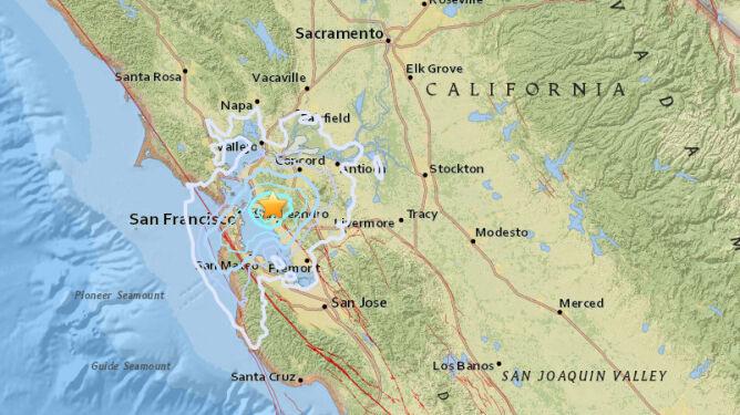 Trzęsienie ziemi miało magnitudę 3,5 (USGS)