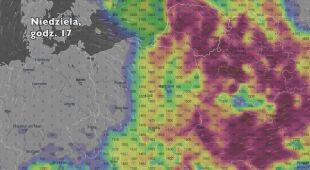 Potencjalny rozwój burz w ciągu najbliższych dni (Ventusky.com) | wideo z dźwiękiem