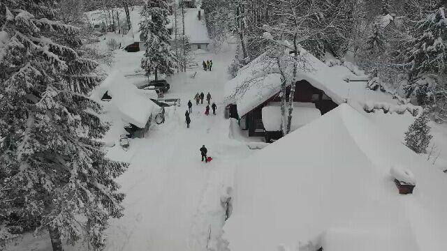 W Zakopanem I W Tatrach Leży Bardzo Dużo śniegu