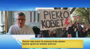 Doktor Paweł Grzesiowski o protestach na uliucach